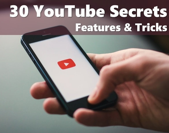 30 YouTube Secrets Features & Tricks