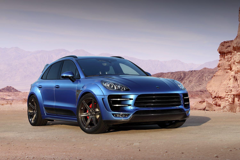 New Porsche Macan URSA Tune By Russia's TopCar