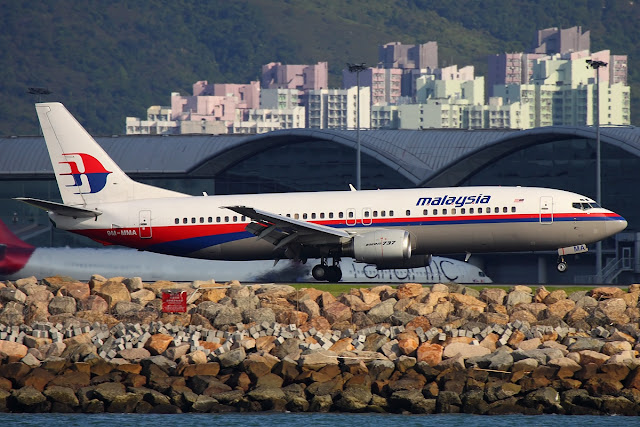 Last Flight Malaysia Airlines Boeing 737-400