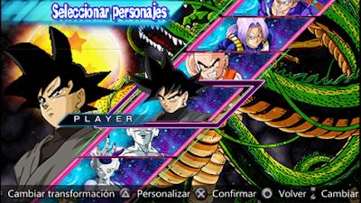 Dragon Ball Z - Shin Budokai 5 Mod (Español) Download