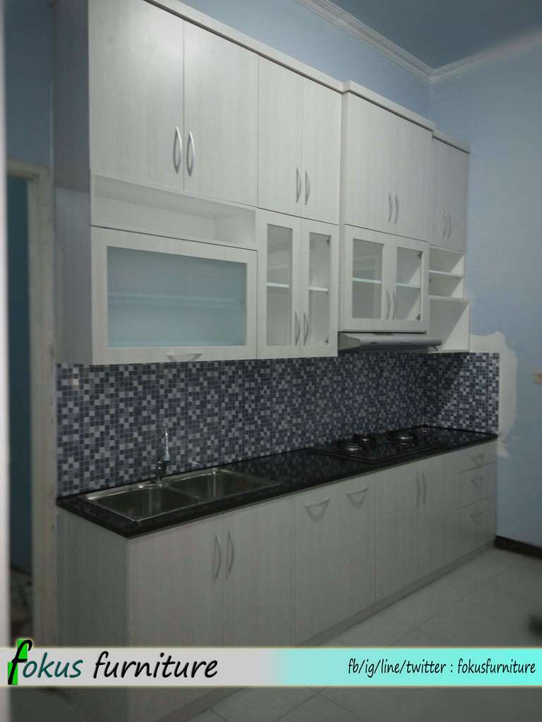 Kombinasi Warna Hitam Doff Kitchen Set Minimalis Depok ~ Furniture,kitchen Set
