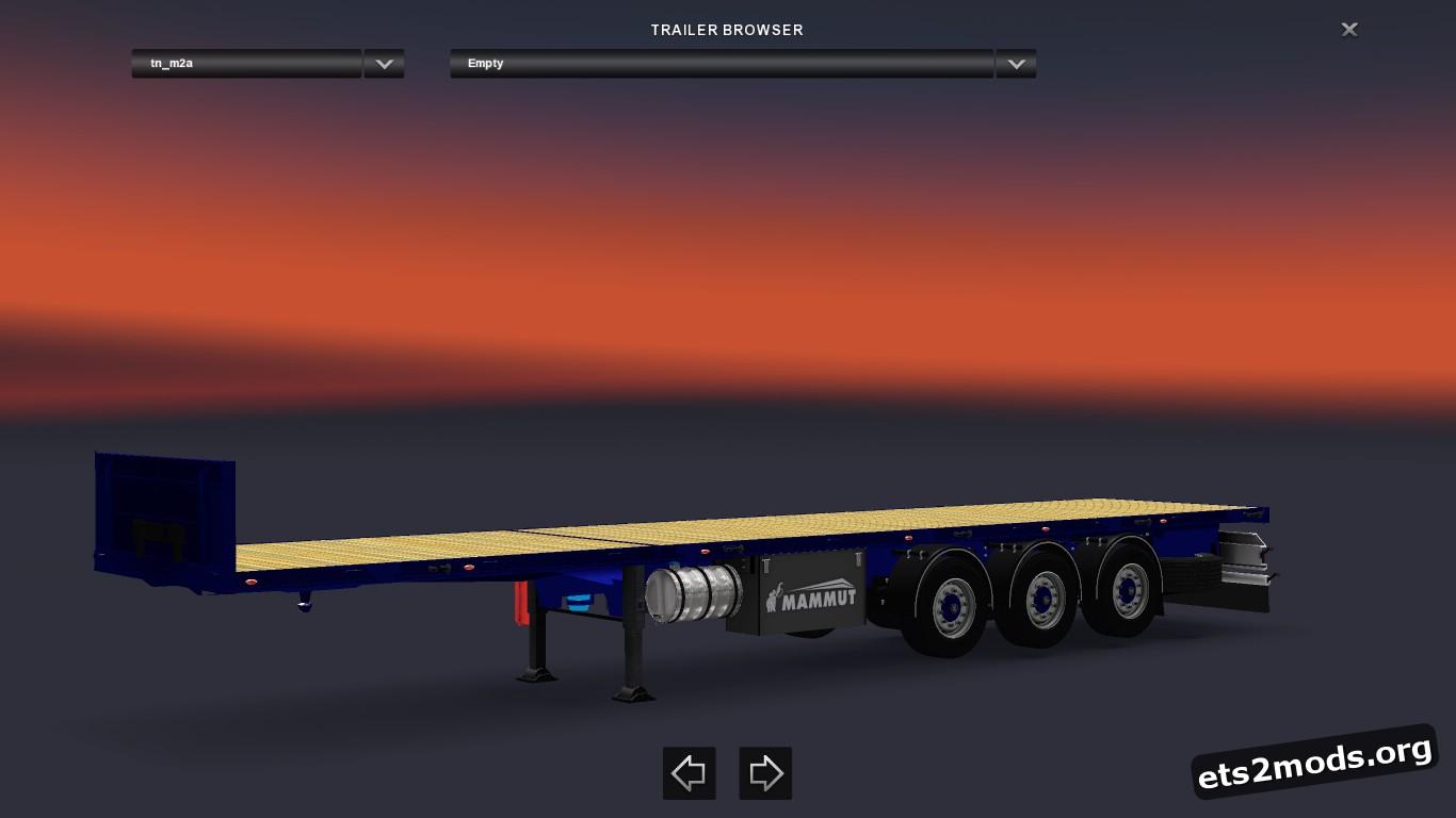 Trailer Mammut 3 Axel Flat V 2.5
