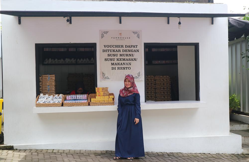 Voucher Susu Murni Farm House Lembang Bandung