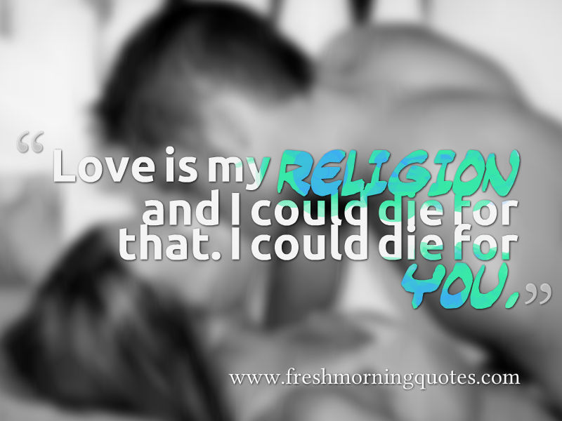 romantic couple in bed wallpaper with quotes