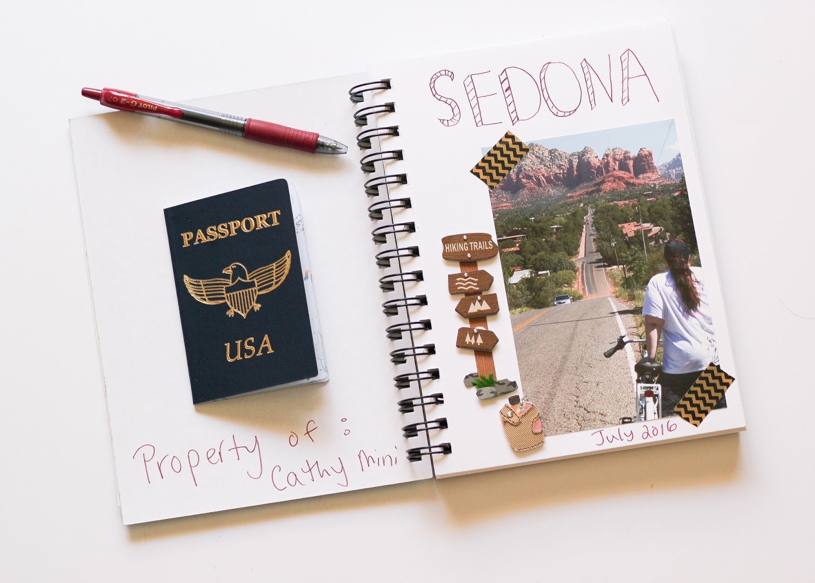 Travel Book Cover Ideas ~ Diy travel journal our mini family