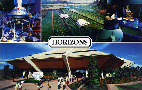 A postcard for Horizons, EPCOT's best extinct attraction