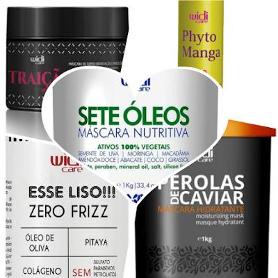 produtos widi care liberados low poo