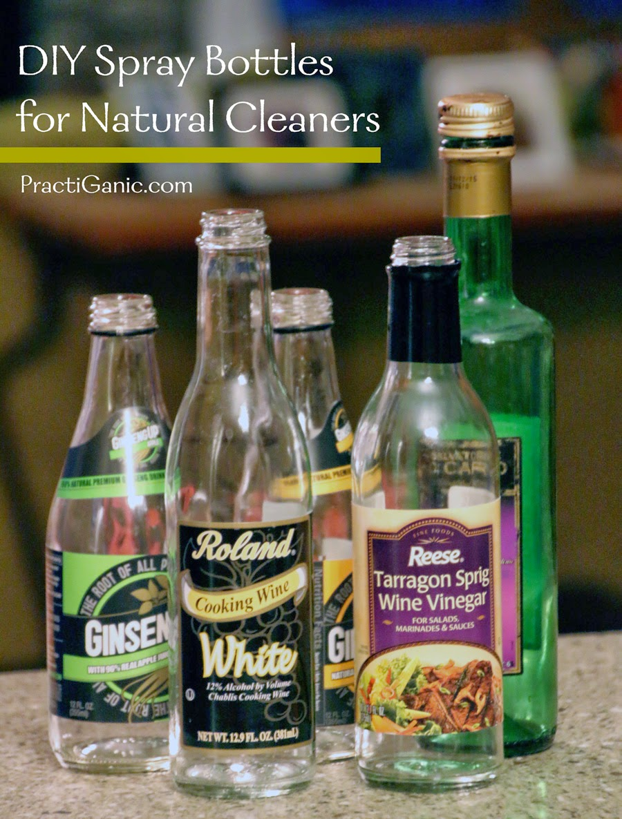 DIY Spray Bottles for Natural Cleaners