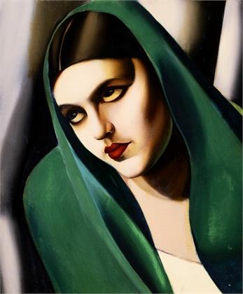 Tamara de Lempicka Il velo verde