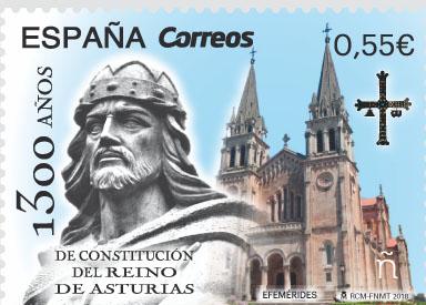 1300 aniversario del Reino de Asturias