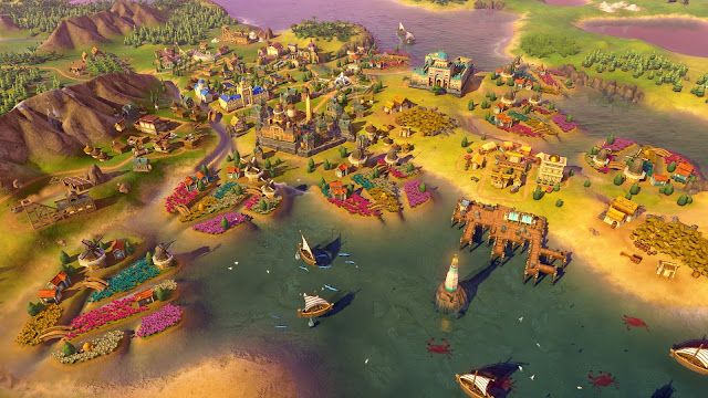 Screenshot of Civilization VI: Rise and Fall