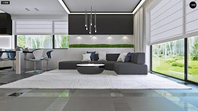 Cách sắp xếp nội thất phòng khách