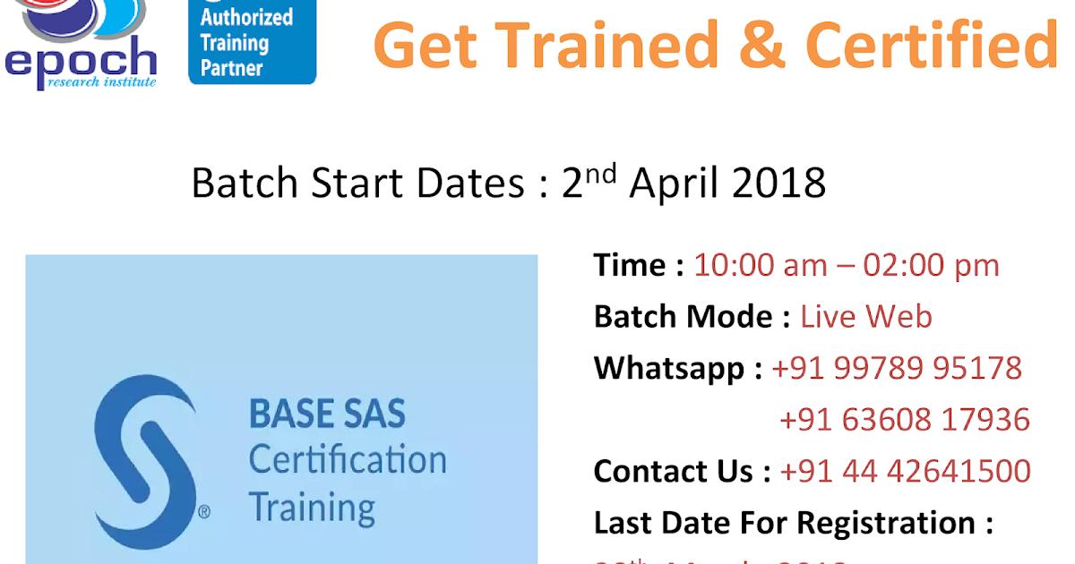 SAS® Training: Big Data Analytics, Clinical SAS Programming: Learn ...