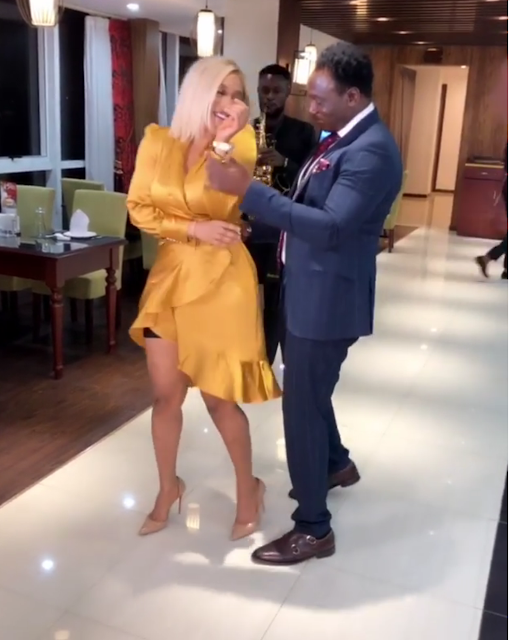 Image result for pictures of Tonto Dikeh and Daniel Amokachi