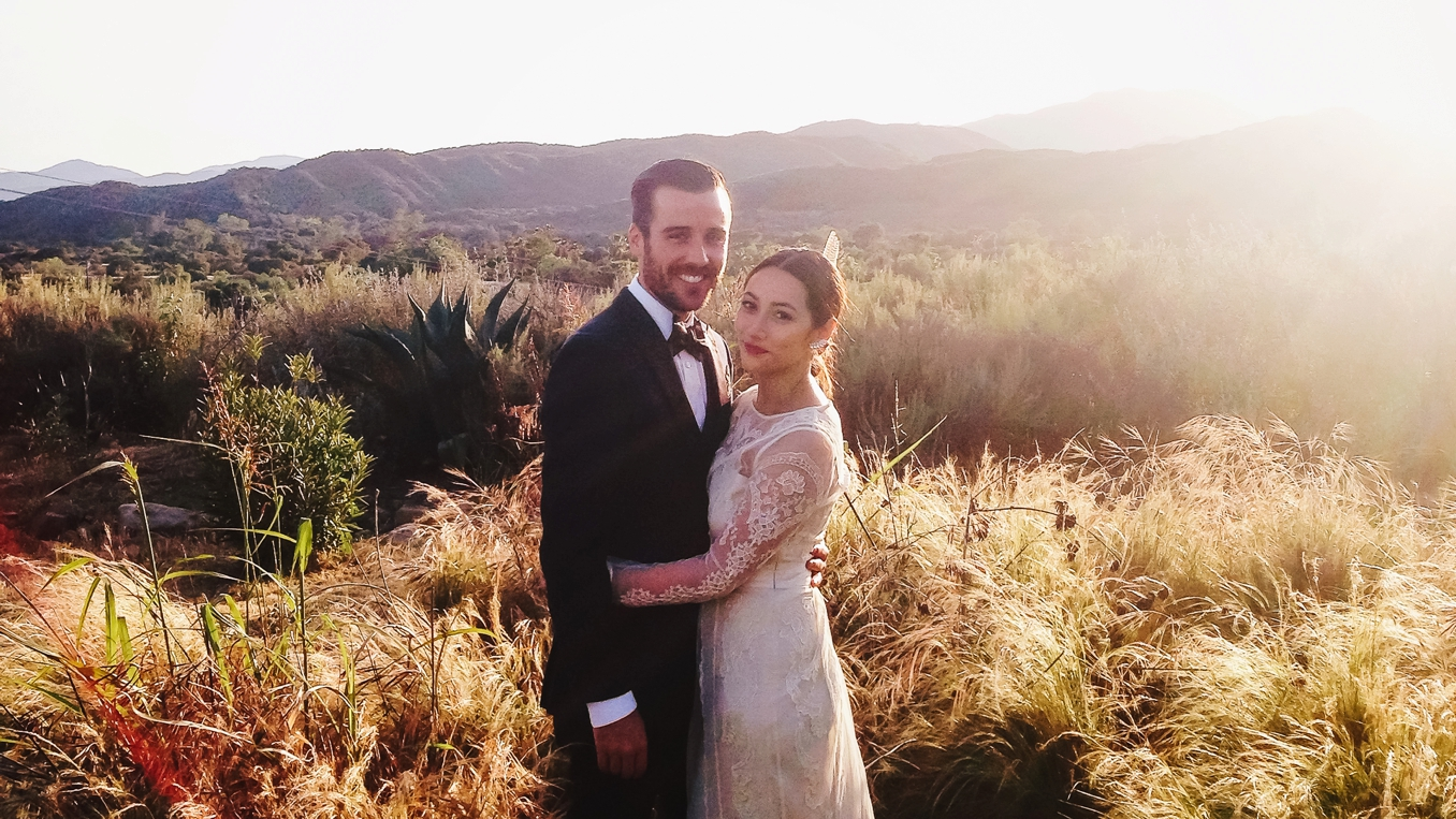 Tessa and Andy's gorgeous Ojai wedding. Photo by STUDIO 1208