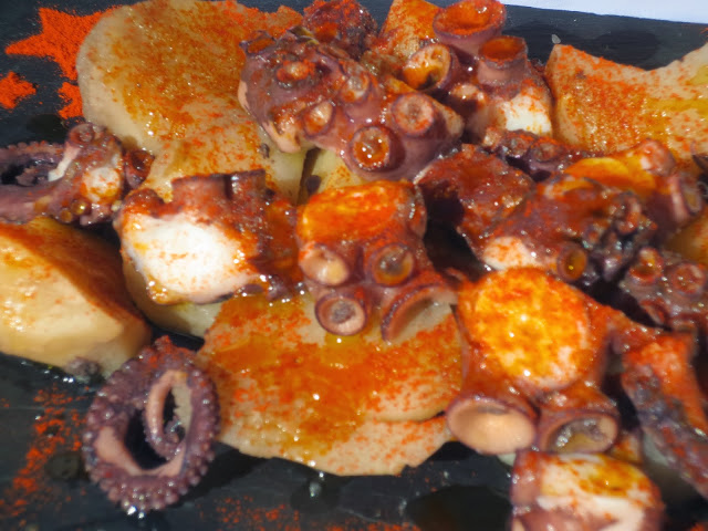 Pulpo a la gallega olla GM