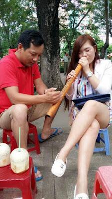 ベトナムの水タバコ