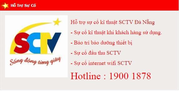 xử lý sự cố cho khách hàng đang dùng truyền hình cáp SCTV tại Đà Nẵng