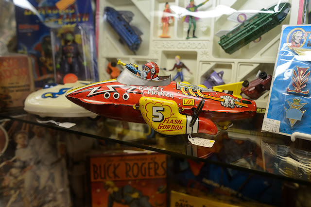 Flash Gordon Wind-up at the Barker Museum