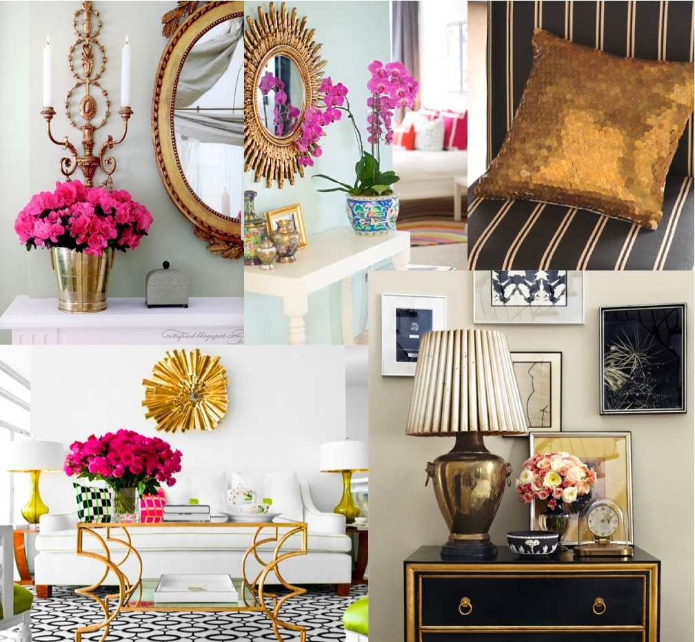 LUV DECOR: #4 OUR DREAMS CAN BE... GOLD