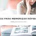 5 Trucos para memorizar rápidamente