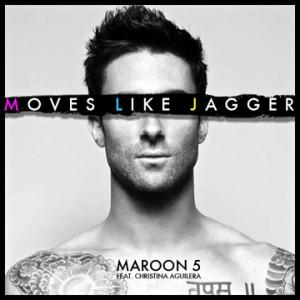 Maroon 5 Moves Like Jagger Lyrics Letras De Canciones