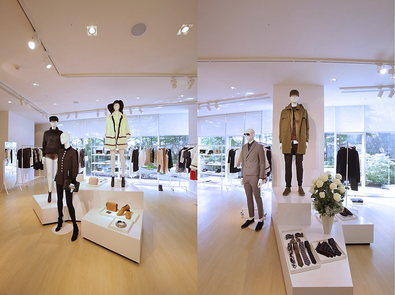 H&M INDONESIA FALL WINTER 2013, SHOWROOM