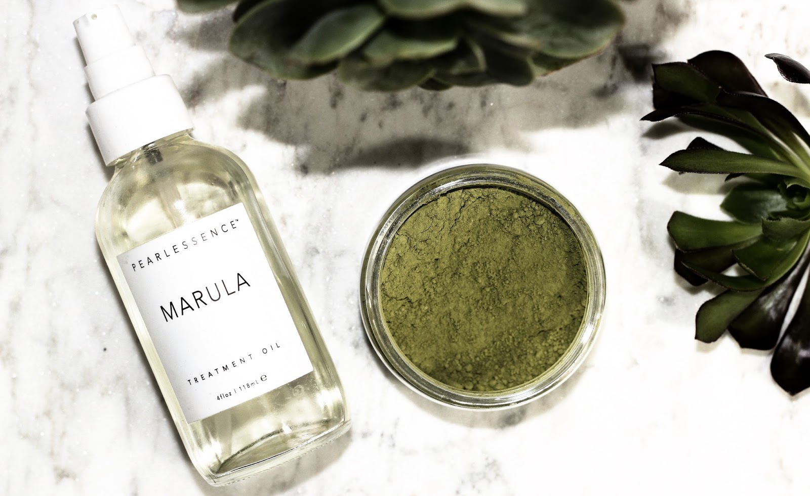 Matcha Tea + Marula Oil | #BeautyTalk