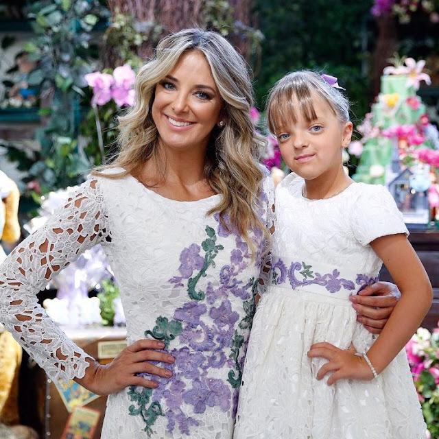 Ticiane Pinheiro vestido festa Rafaella Justus filha