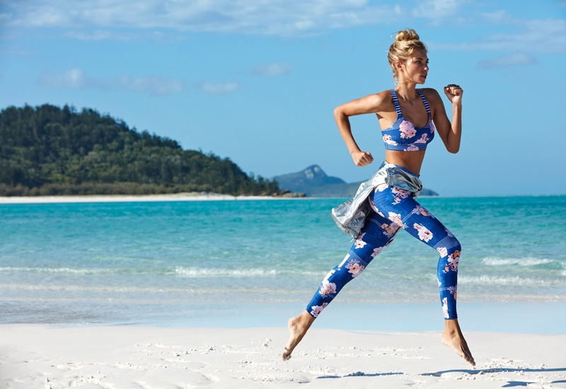 Seafolly Spring/Summer 2017 Campaign featuring Jessica Hart