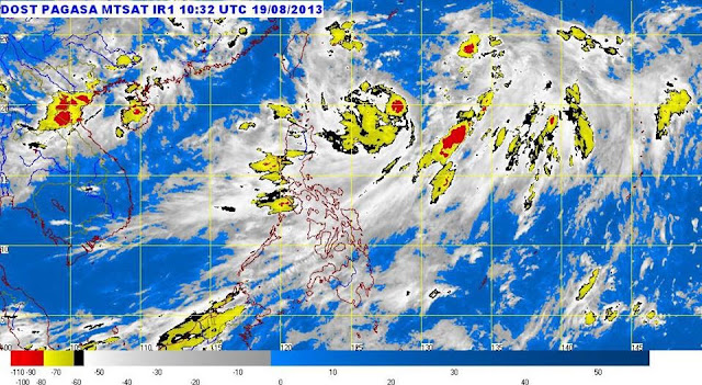 Typhoon Maring brings non-stop rains over Metro Manila, Luzon