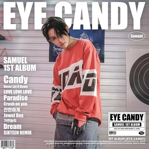 SAMUEL – EYE CANDY (FLAC + ITUNES MATCH AAC M4A)