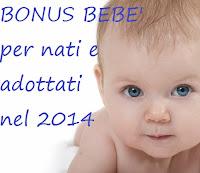 bonus bebè per nati e adottati nel 2014