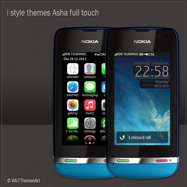 Descargar temas gratis para celular marca Nokia Asha 311