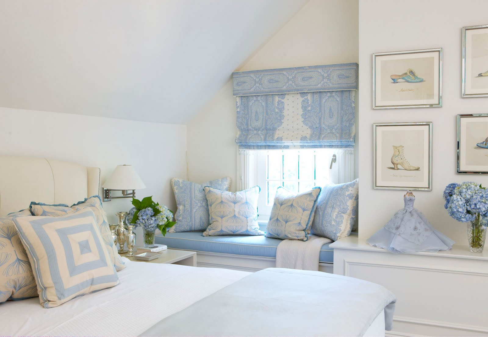 Rinfret LTD: Blue Bedrooms