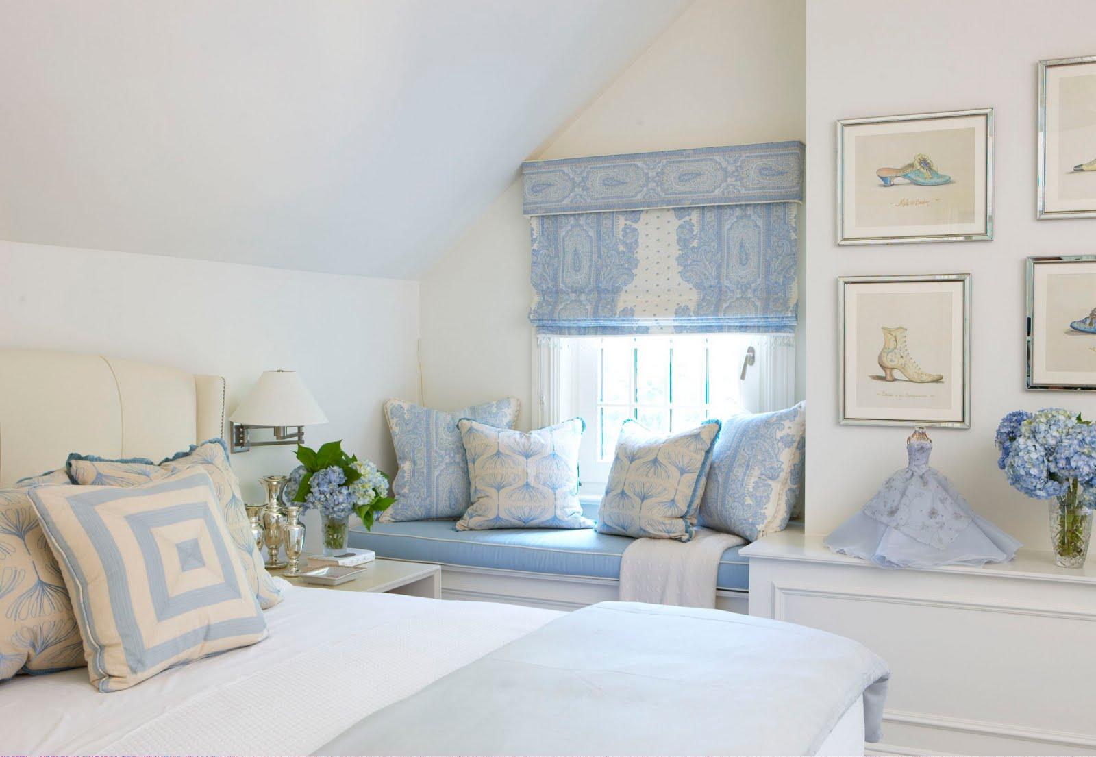Rinfret LTD Blue Bedrooms