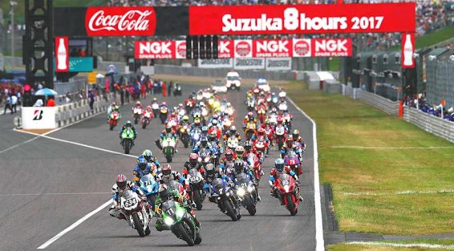 鈴鹿8耐 決勝レース