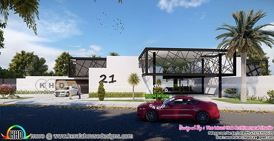 4 BHK ultra modern 2800 square feet villa