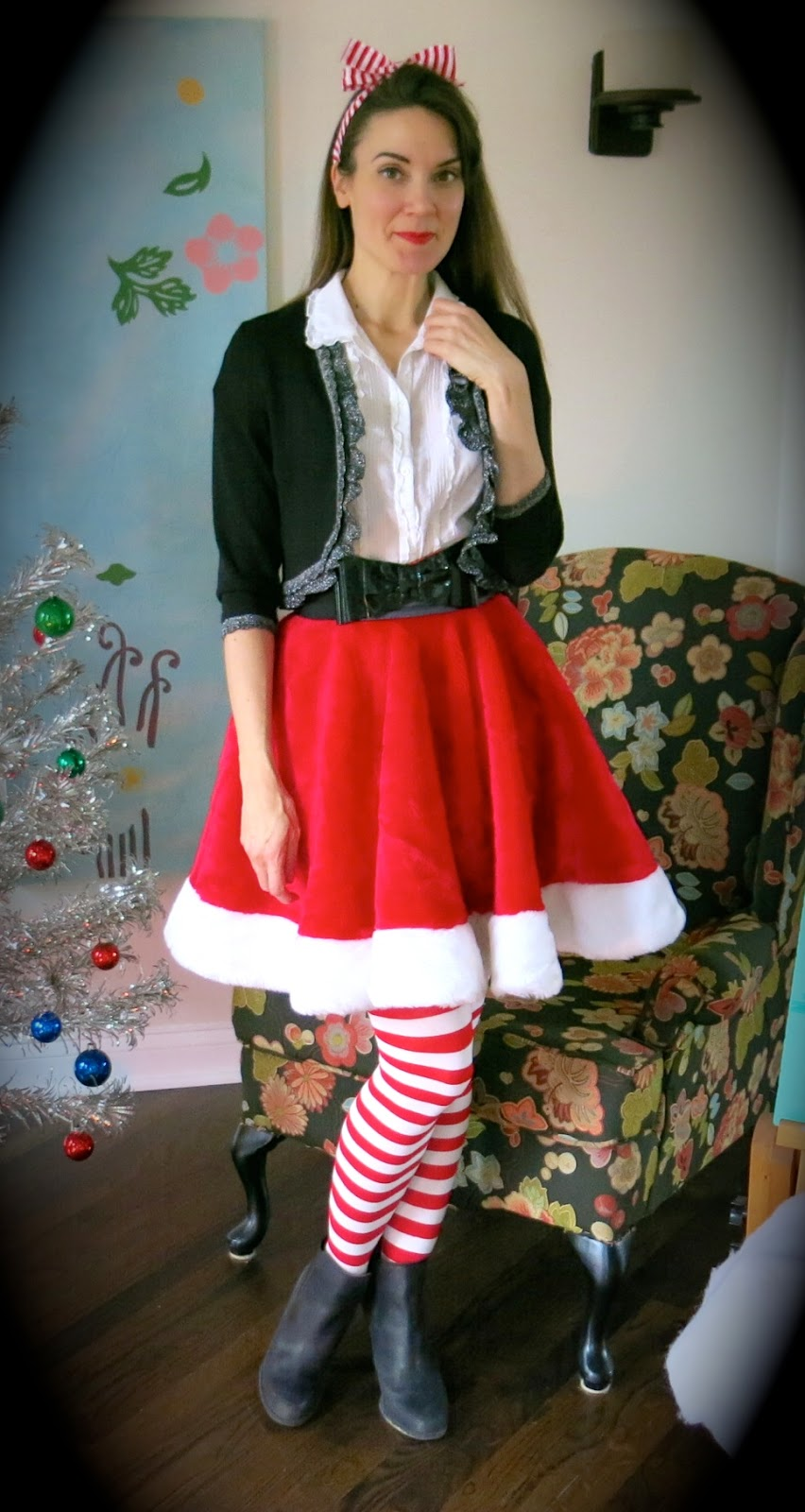 Cassie Stephens Vintage Christmas Clothes