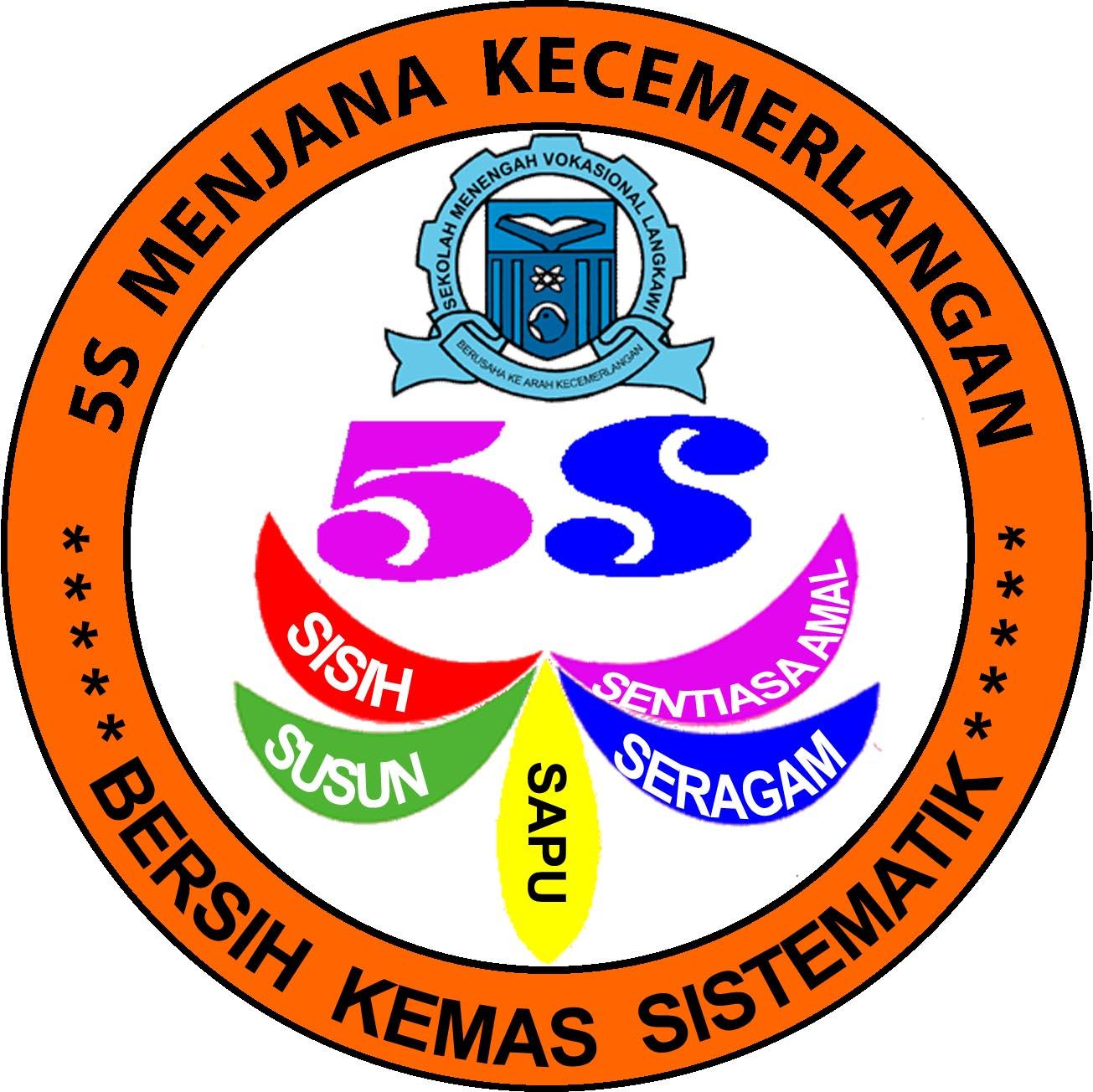 PROGRAM 5S: LOGO 5S SMV LANGKAWI