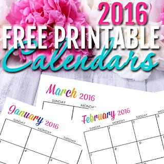 Editable 2016 calendar