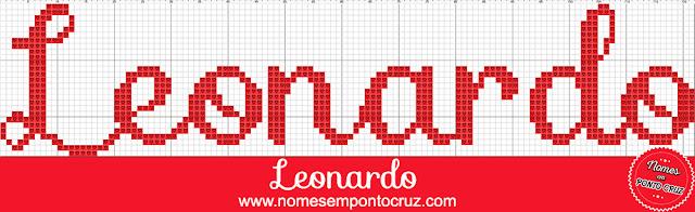 Nome Leonardo em Ponto Cruz