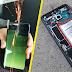 إختبار أمان بطاريات هاتف سامسونغ غلاكسي أس 8  و أس 8 بلس... نتائج مذهلة !!