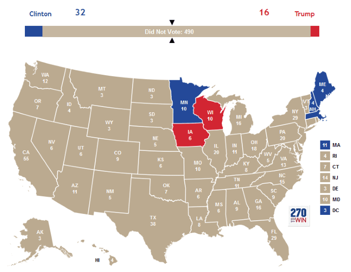 If Did Not Vote Had Been A Candidate In The 2016 Us Presidential Election It Would Have Won By A Landslide