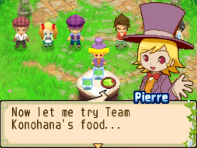 Resep Masakan Harvest Moon The Tale of Two Towns [Salad]