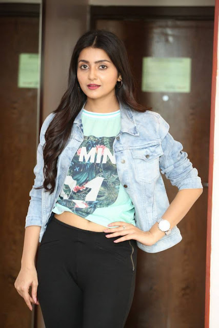 Avanthika Stills At Vaisakham Movie Triple Platinum Disc Function