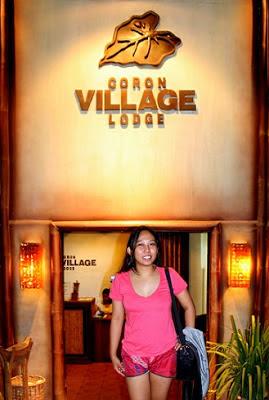 Pinay Travel in Coron Village Lodge