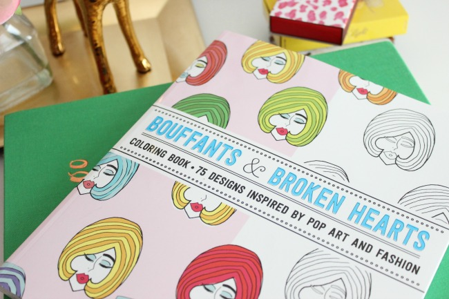 Bouffants & Broken Hearts Coloring Book