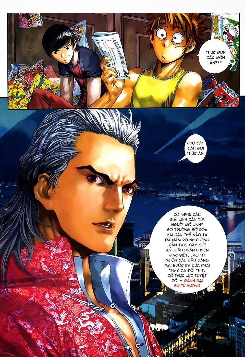 Quyền Đạo chapter 9 trang 9