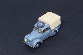 British Light Utility Car 10HP